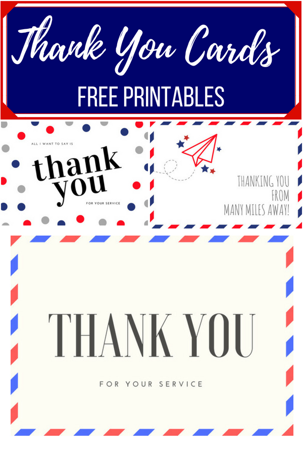 image regarding Military Thank You Cards Free Printable named How towards thank people that provide our region: Cost-free Printables