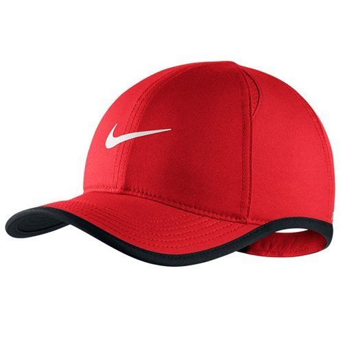 a5c5b418e83 shop plain black nike cap fe1a6 777b3  promo code for nike featherlite kids  adjustable hat red. body bill dri fit 100 38679