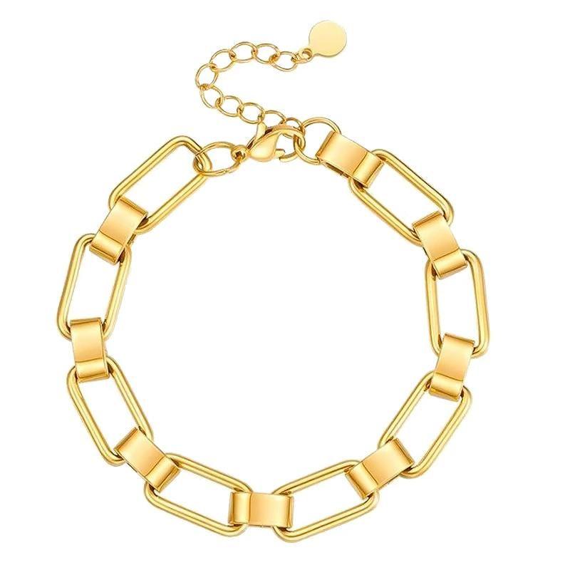 Nakuna Bracelet - Yellow gold color