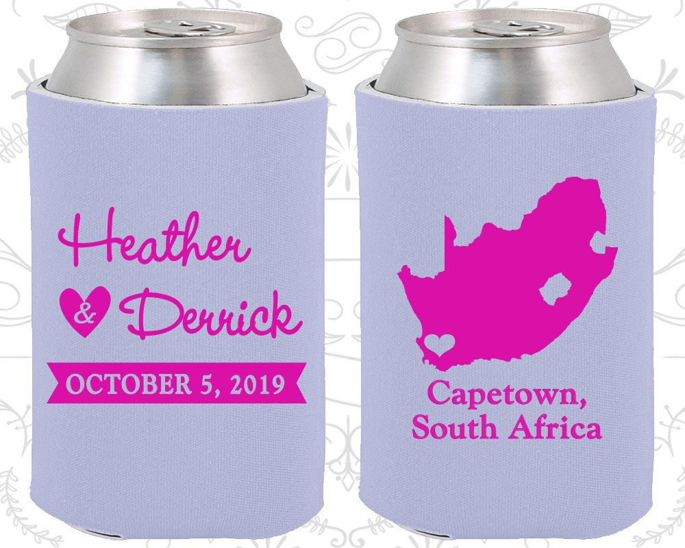 South Africa Wedding Gifts, Coolies, Destination Wedding Favors ...