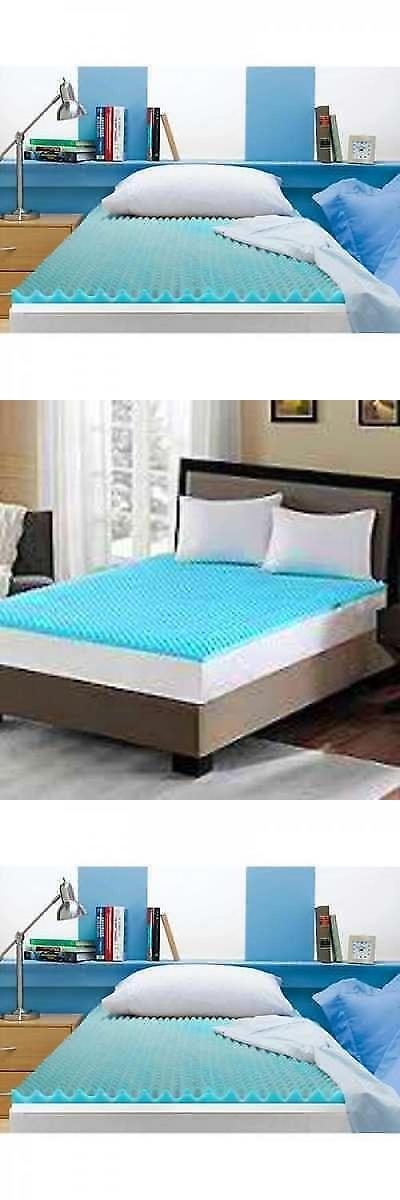 mattress pads and feather beds 175751: 3 queen size memory foam