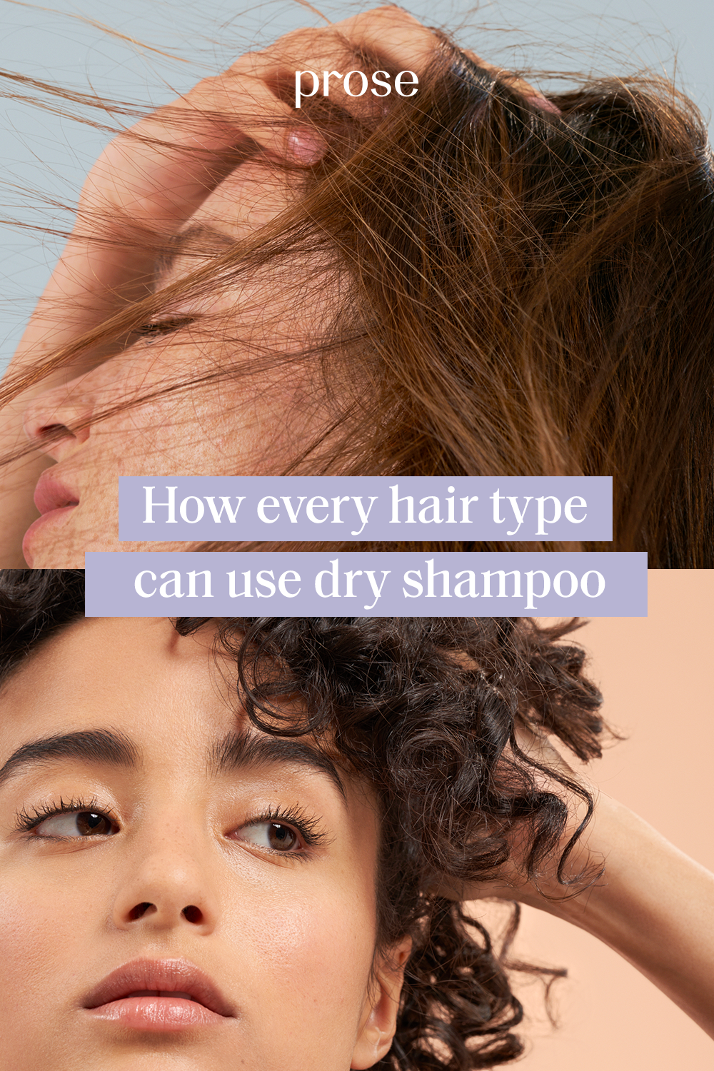 How Every Hair Type Can Use Dry Shampoo Dry Shampoo Using Dry Shampoo Hair Type