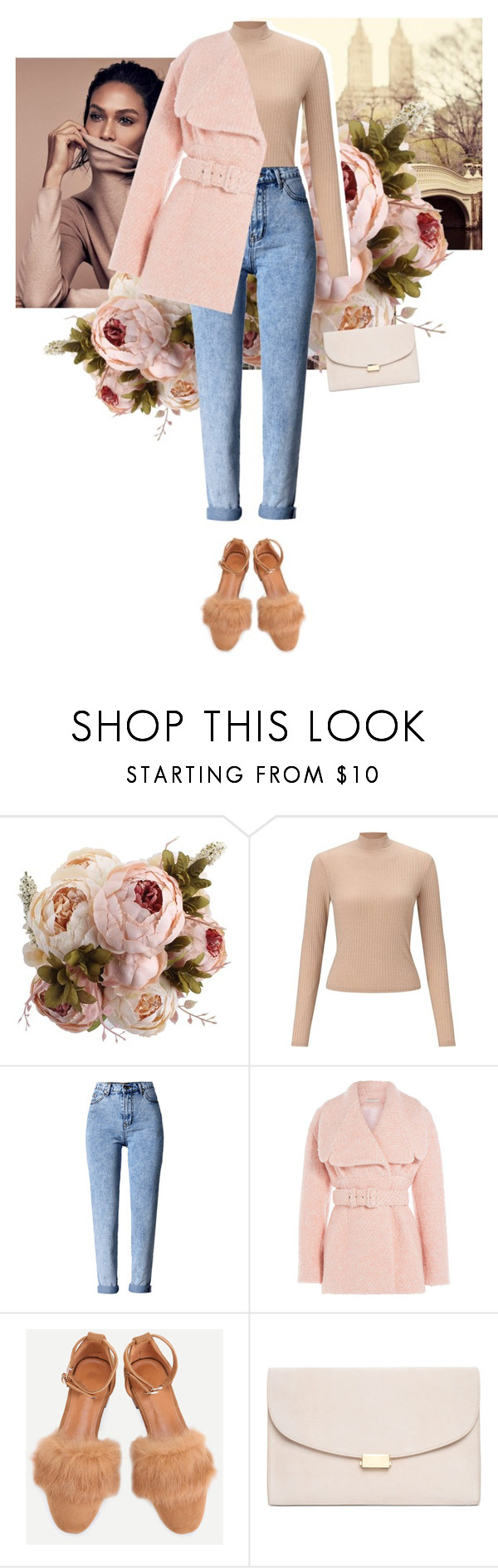 """""""dreaming"""" by faye-valentine ❤ liked on Polyvore featuring Miss Selfridge, WithChic, Emilia Wickstead and Mansur Gavriel"""