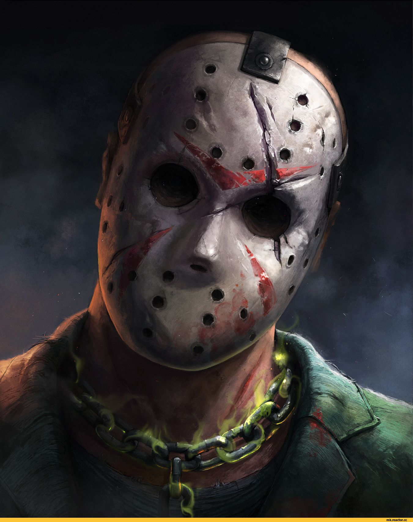 Img0 Joyreactor Cc Pics Post Full Jason Voorhees Friday The 13th Mortal Kombat X Mortal Kombat 3574488 Jason Voorhees Jason Voorhees Wallpaper Horror Movie Art