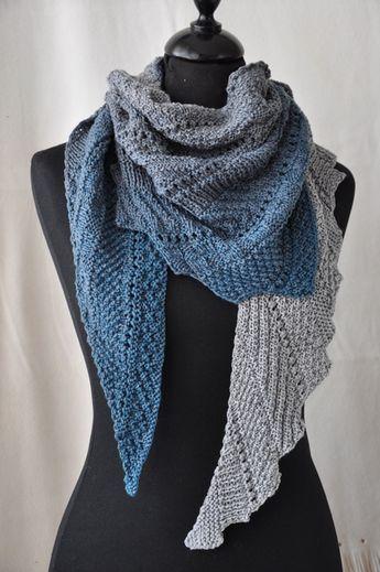 Strickanleitung Polymix | Knitting - Shawls / Shawlettes | Pinterest ...