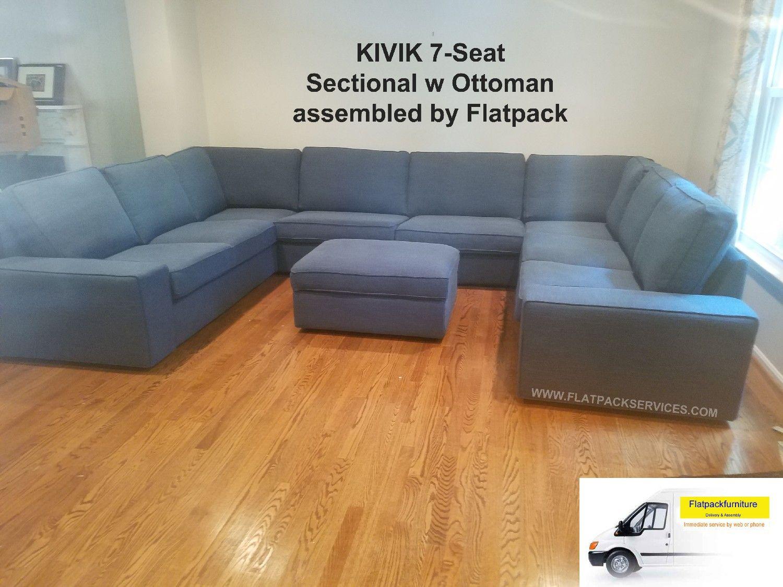 Kivik Sofa assembly in DC Help Assembling Furniture ...