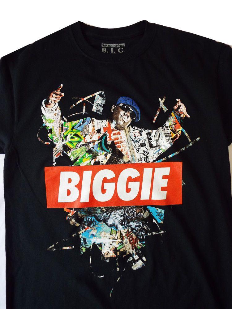 c83413ed Notorious B.I.G Biggie Smalls T-Shirt Hip Hop Rap Legend Bad Boy  Records-SIZES! #NotoriousBIG #GraphicTee