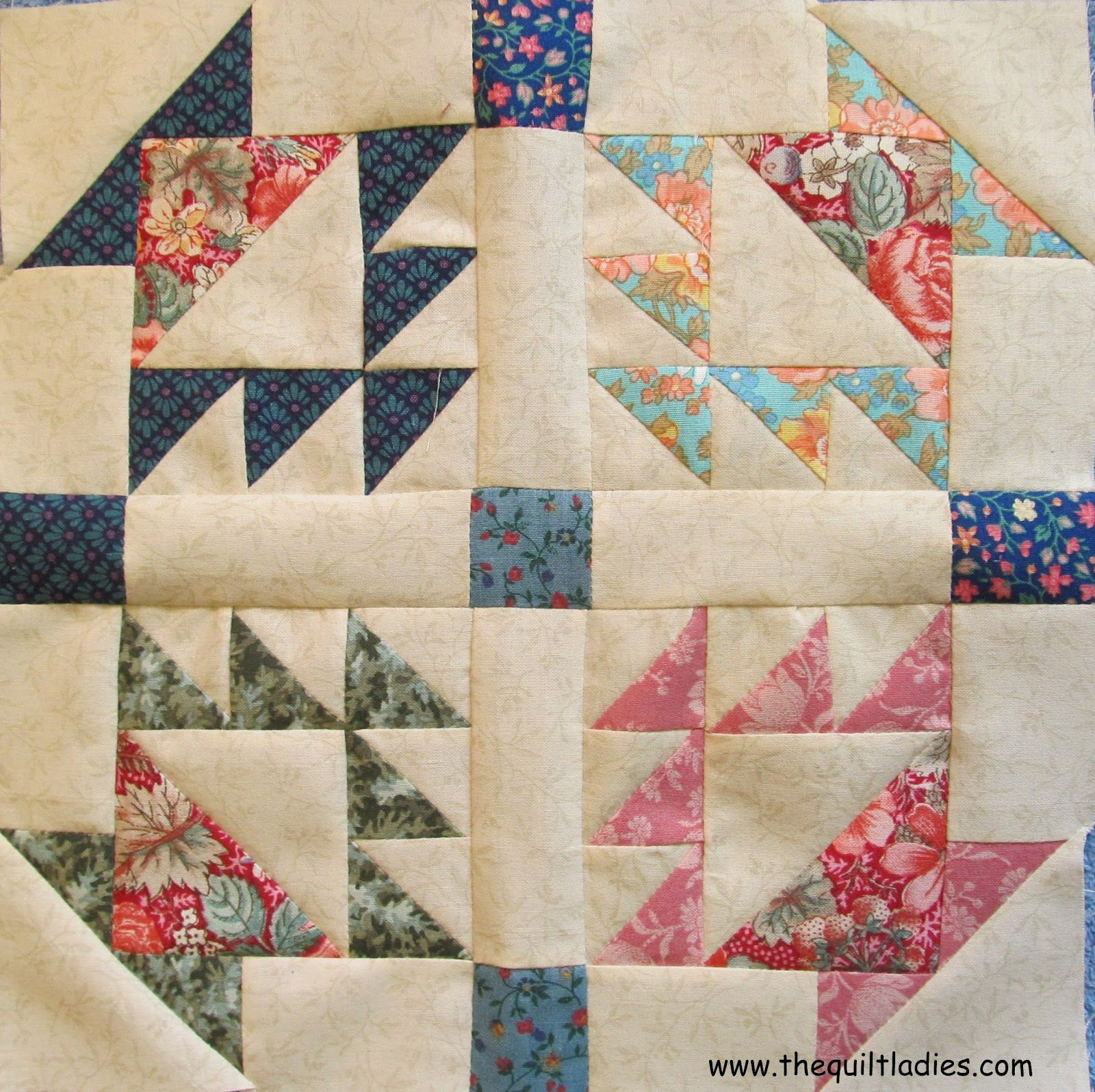 basket quilt pattern block tutorial by The Quilt Ladies | A Quilt ... : basket quilt - Adamdwight.com