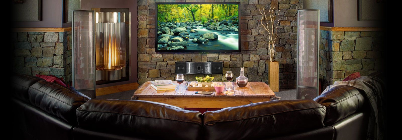 Living Led Tv Setup