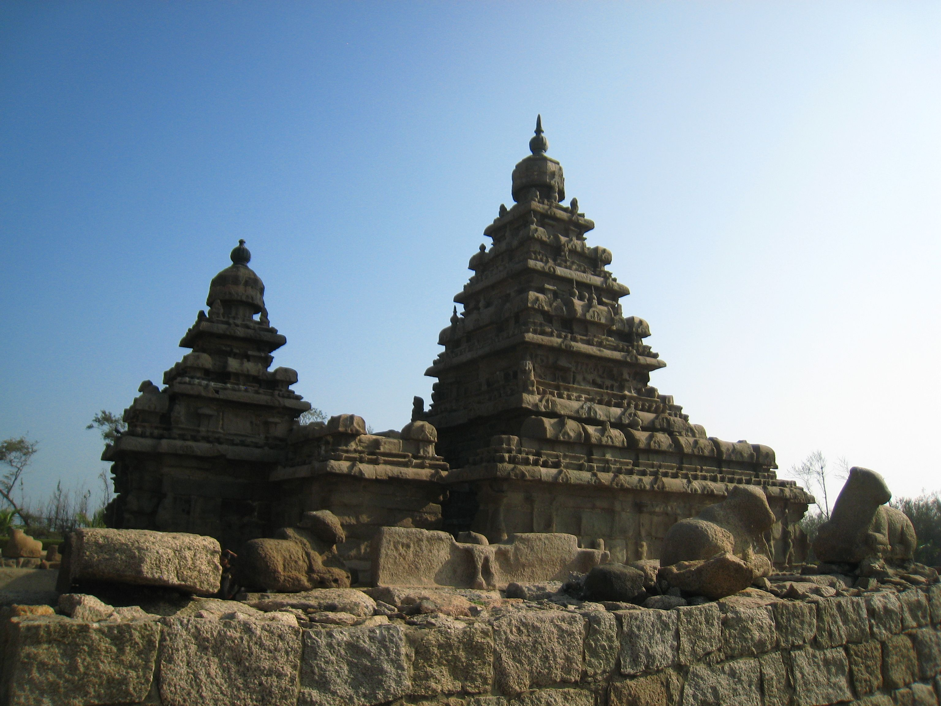 Centuries back this meant something - today it is a piece of art. Shore Temples