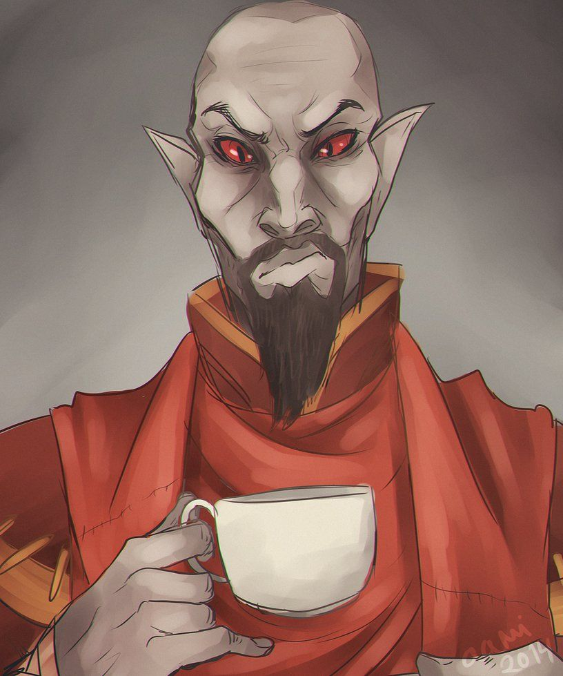 Neloth by aaminen - The Elder Scrolls V: Skyrim       Canis