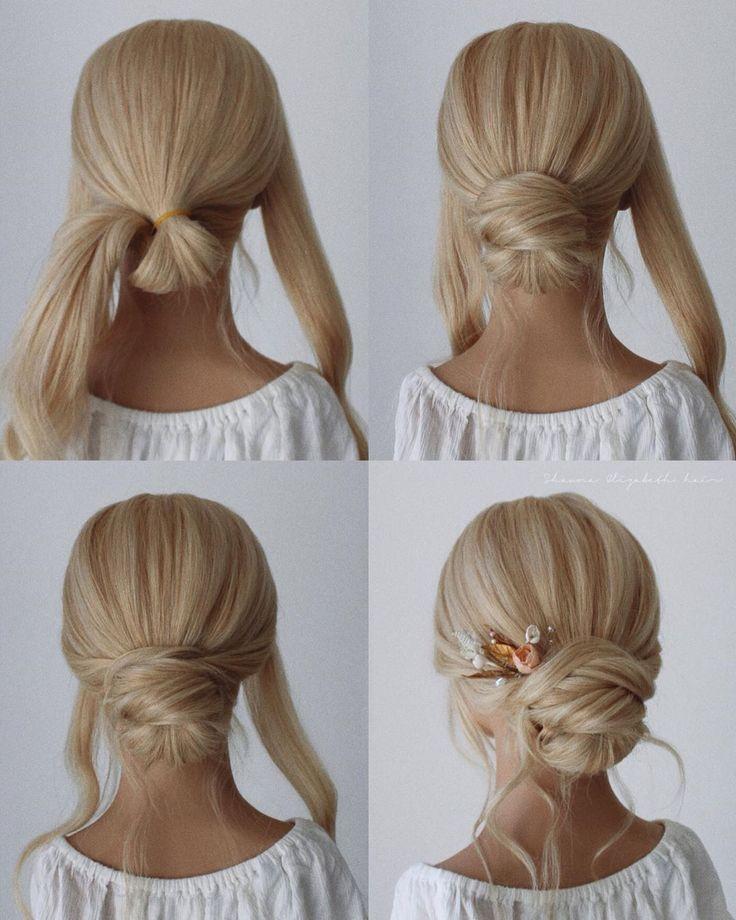 #bridal #differenthairstylessimple #Hair #HeyCinderella #Simple