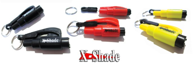 Don't Be Without A Tool That's Always Within Reach When You Need It!!! X-shade Car Escape Tool goo.gl/zPYYWH