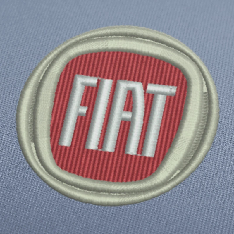 Fiat Color Logo Embroidery Design For Download Embroiderydownload Embroidery Design Download Embroidery Designs Embroidery Logo