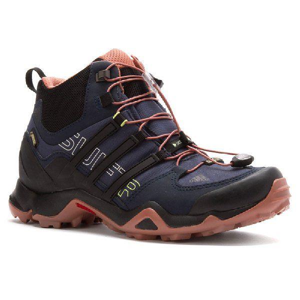 adidas terrex swift r metà gtx scarpa femminile di granito rosa / shock