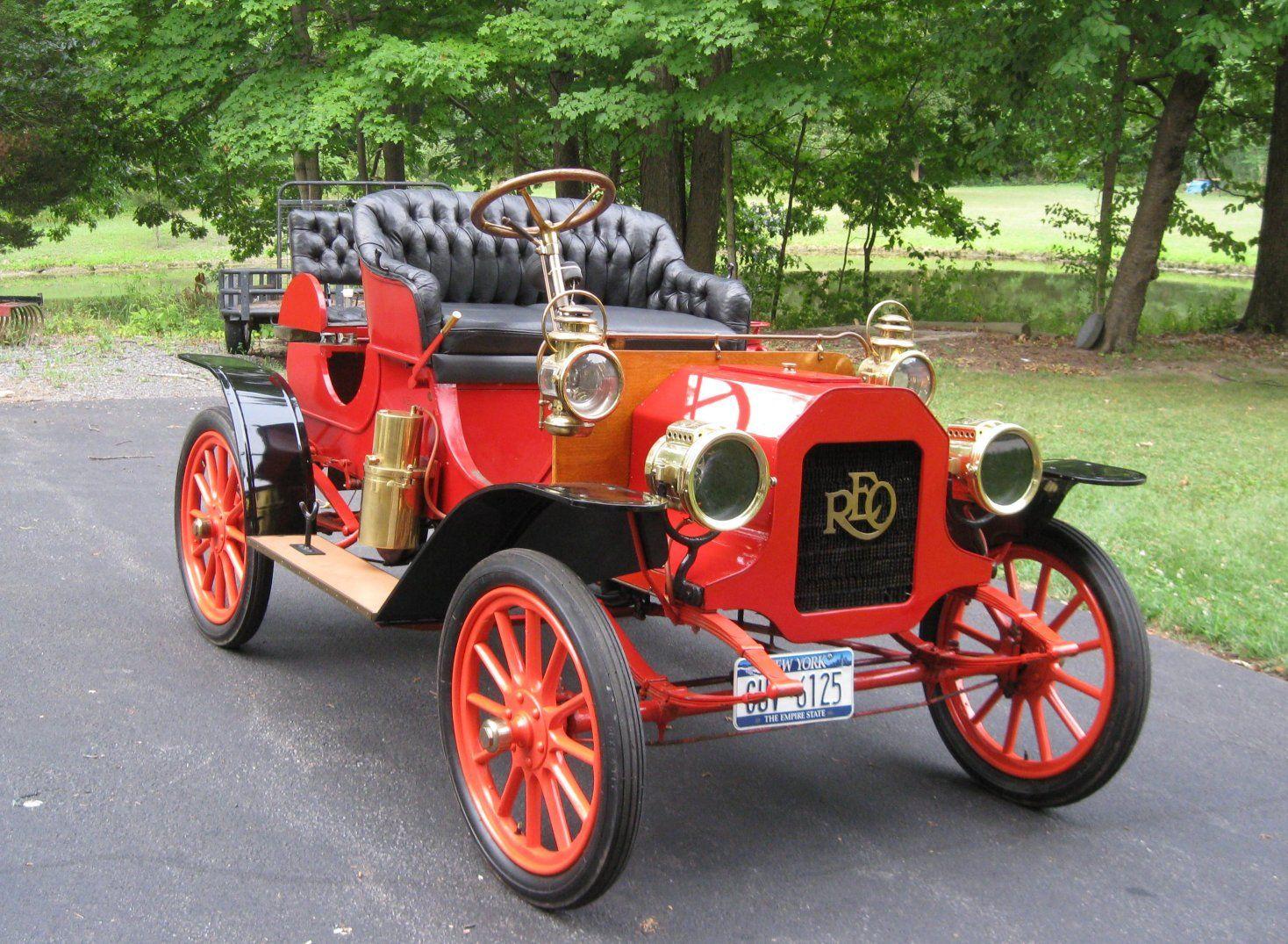 Reo Car: 1908 Reo 1 Cylinder