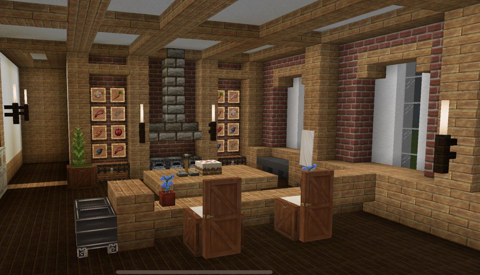 Minecraft Kitchen Ideas Minimal Kitchen Design Minecraft Kitchen Ideas Simple Kitchen Design