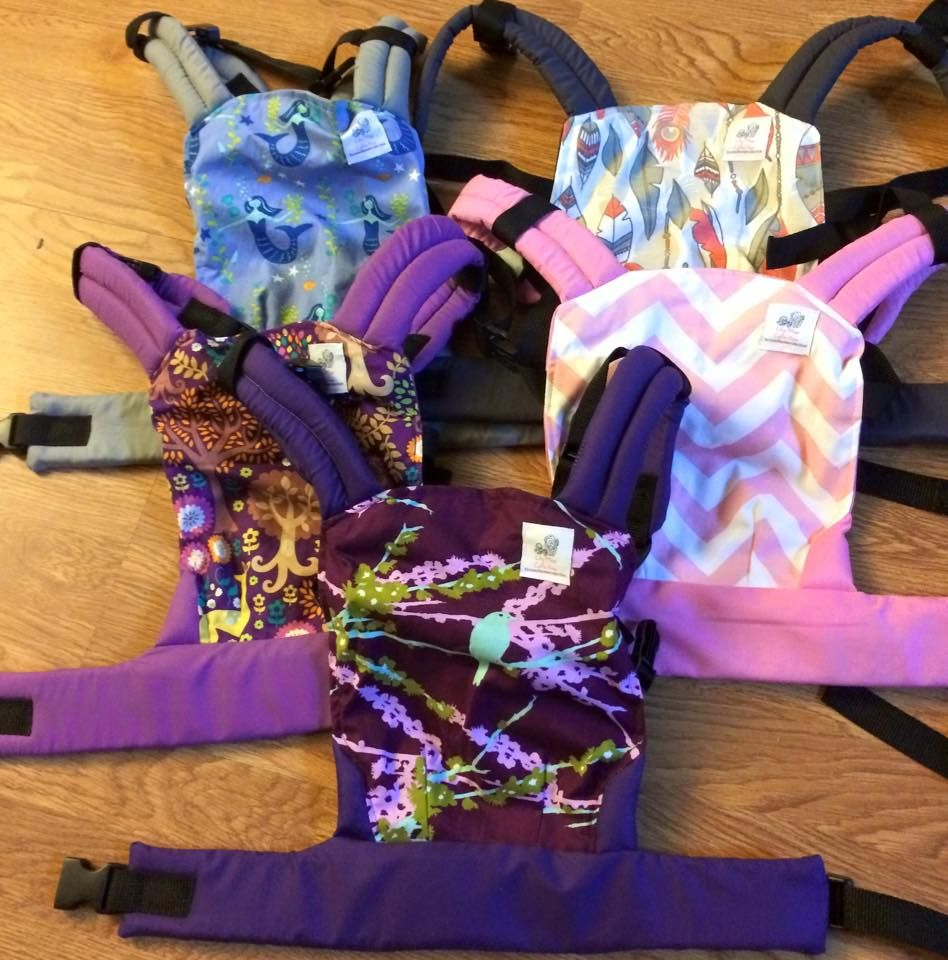How cute are these doll carriers to match your Tula!?!