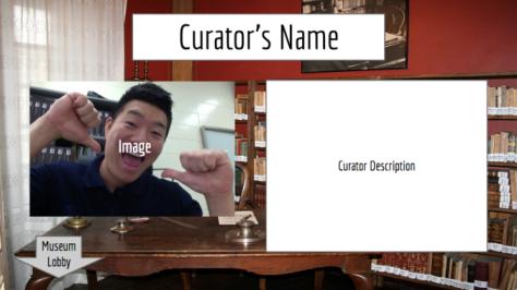 google slides templates | virtual museum, Presentation templates