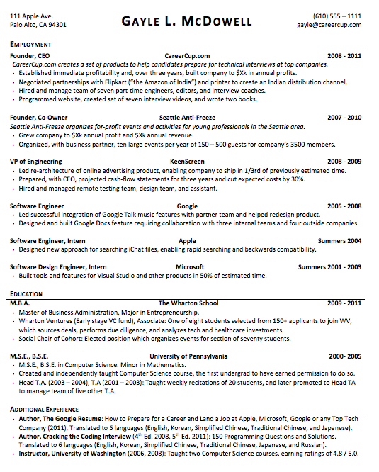 Resume Format Quora | Perfect resume, Good objective for ...
