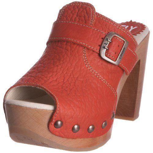 ce63f88a0961 FLY London Women s Sandy High Heeled Clog