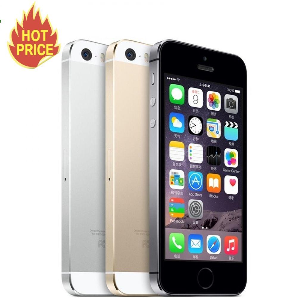 Unlocked Apple iPhone 5S 16GB / 32GB / 64GB ROM IOS phone