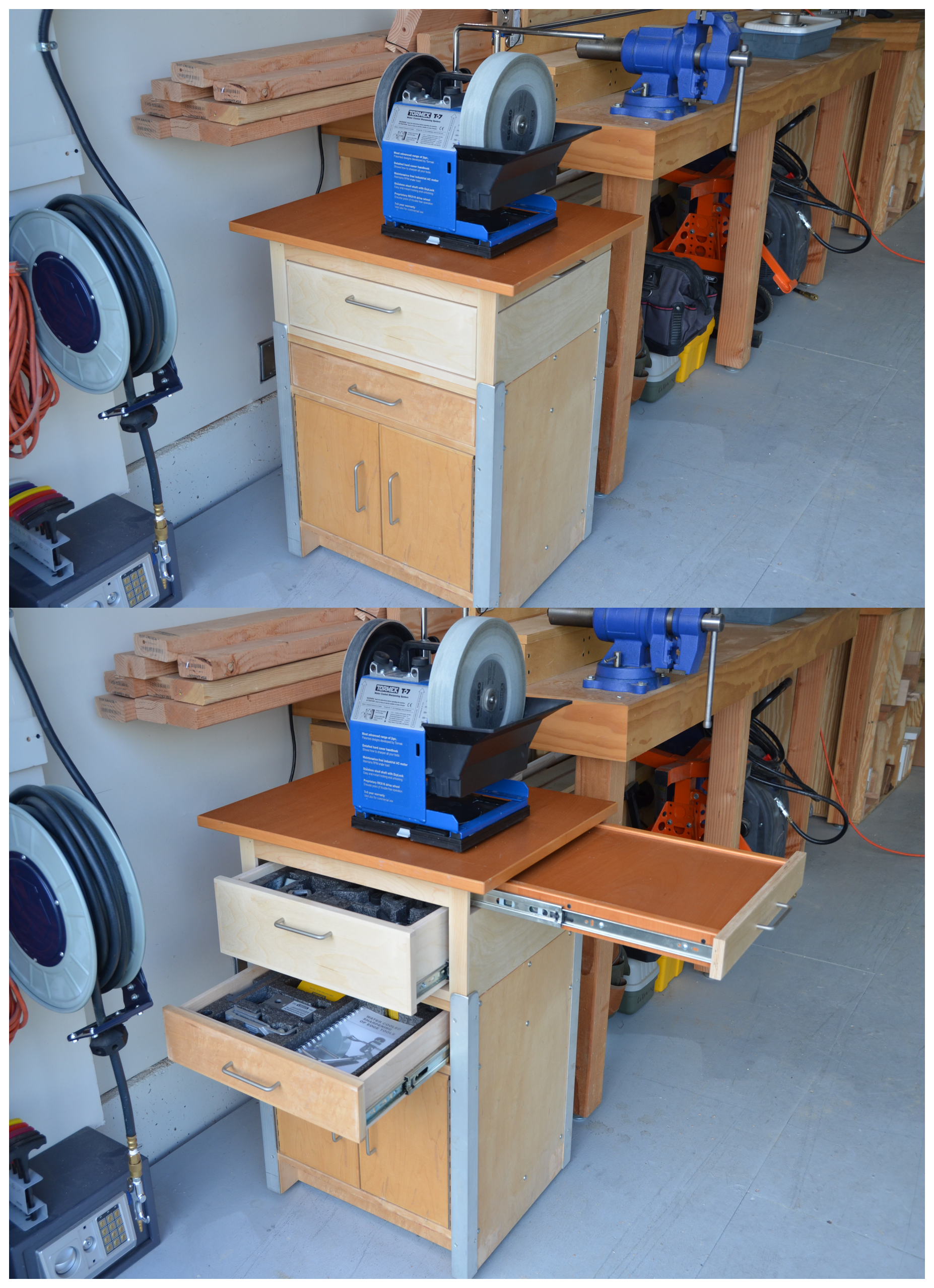New Sharpening Station For The Tormek Took The Base From
