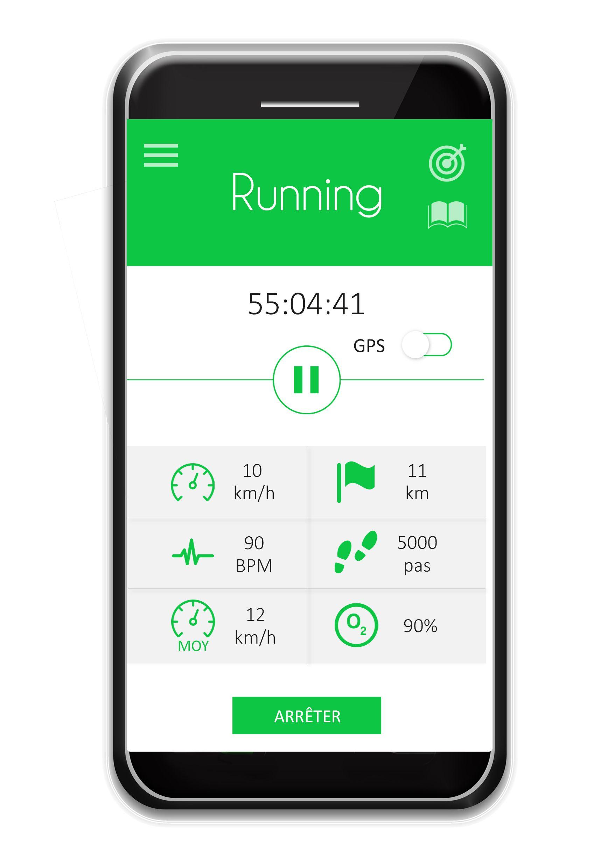 CT Band sport  #ctband #app #wearable #hightech #running