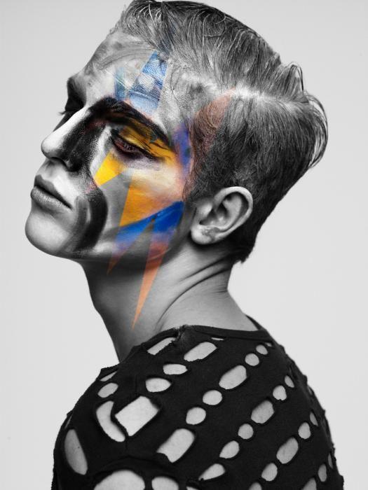 Make-Up by myself  Photo: Lado Alexi