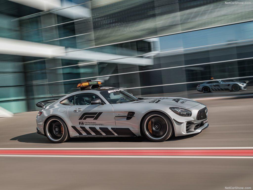 2018 Mercedes Benz Amg Gt R F1 Safety Car Mercedes Benz Amg Mercedes Benz Car Safety