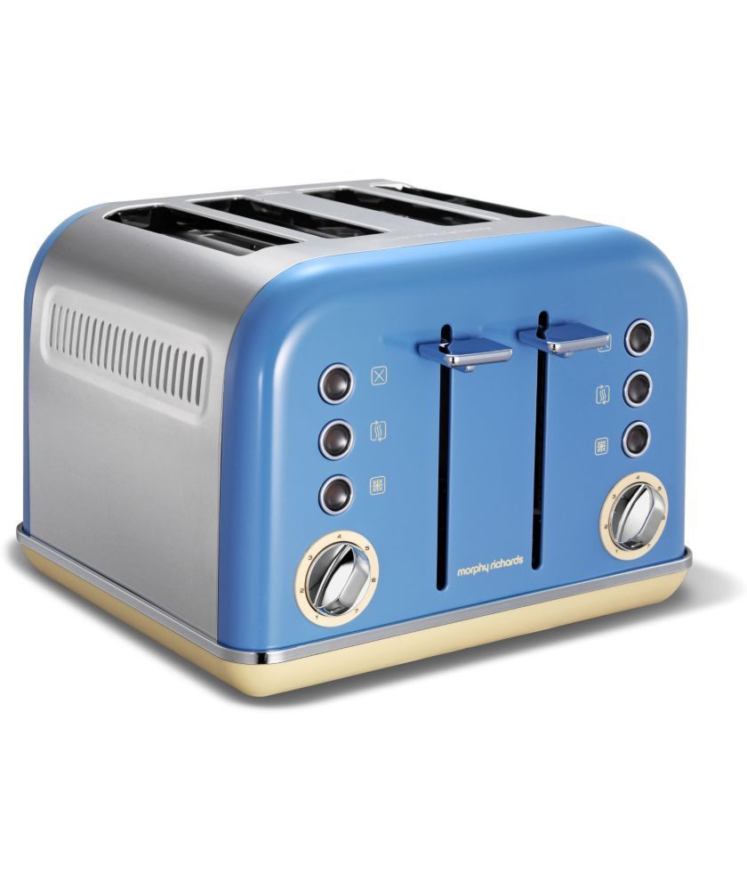 Buy Morphy Richards Accents 4 Slice Toaster - Blue at Argos.co.uk ...