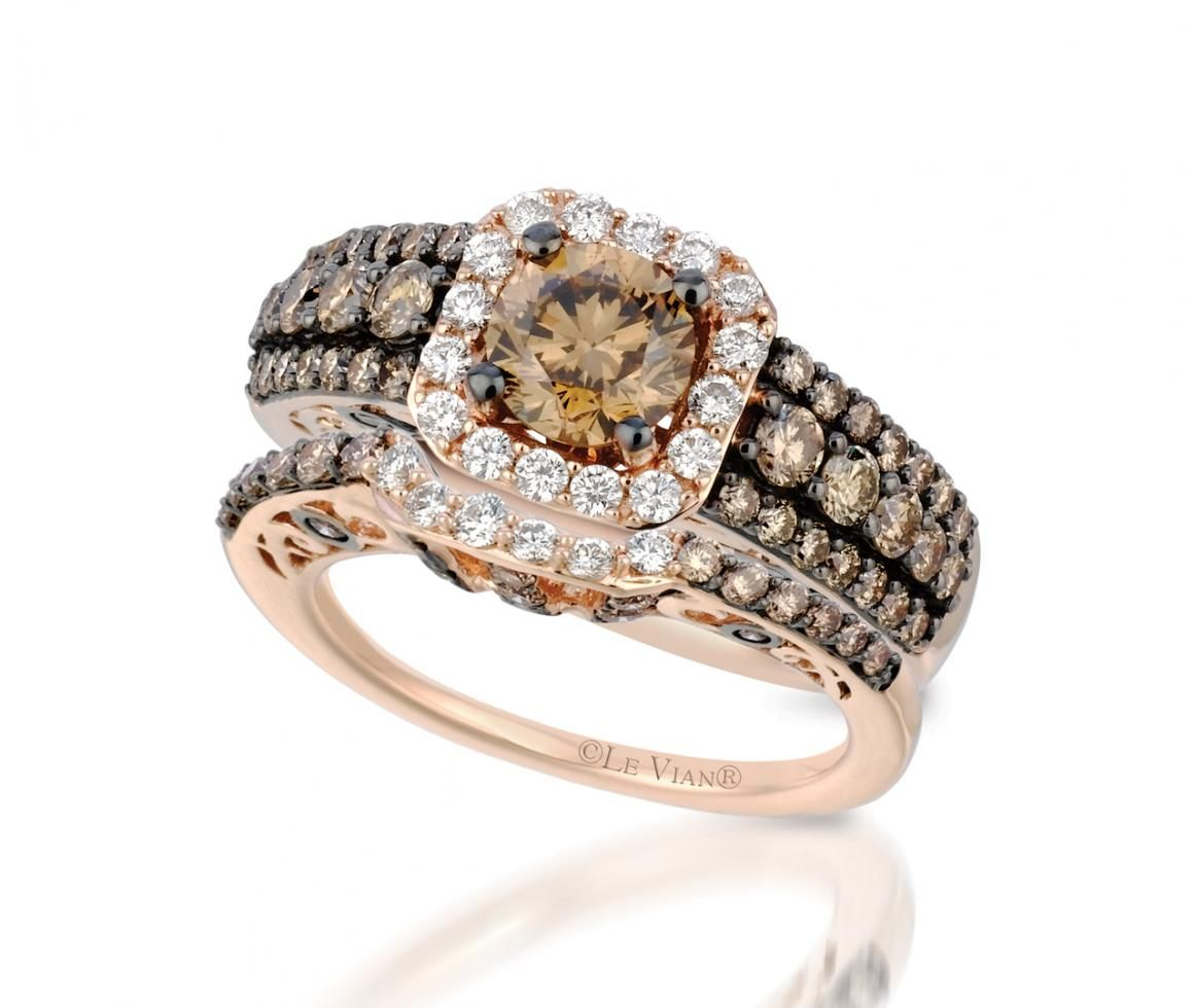 levian® rose gold 2.82ctw bridal set now $9,404.34 from levian