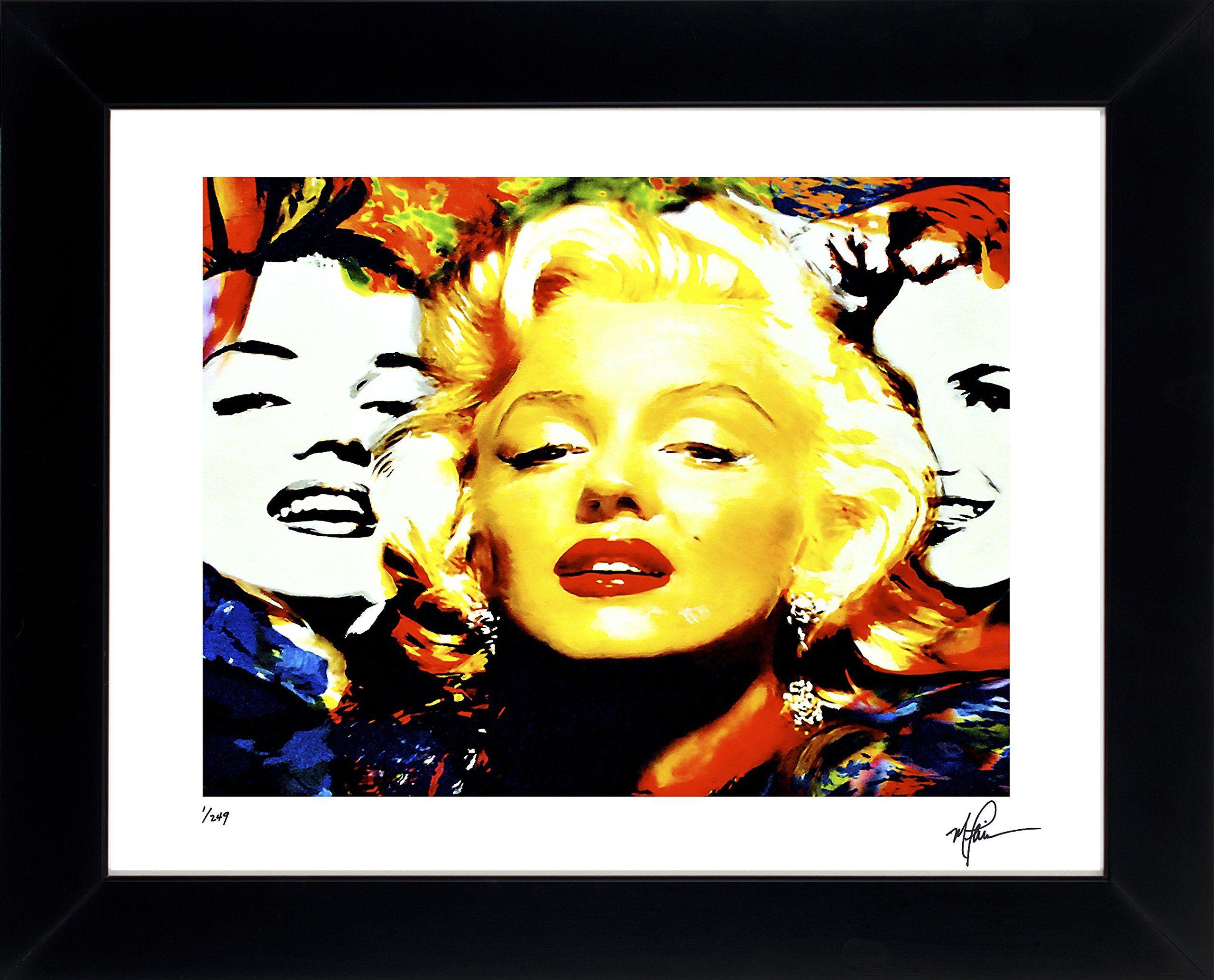 Marilyn Monroe art print framed painting fantastic wall decor ...