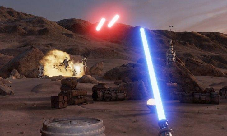 #Multimedia #realidad_virtual #star_wars Un juego de Star Wars en Realidad Virtual creado por Lucasfilm