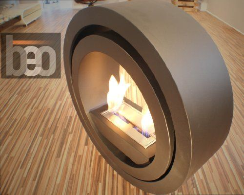 Have a look at this swedish designed Premium Bioethanol Flueless Fireplace - BeoFires Model 'Twisk'