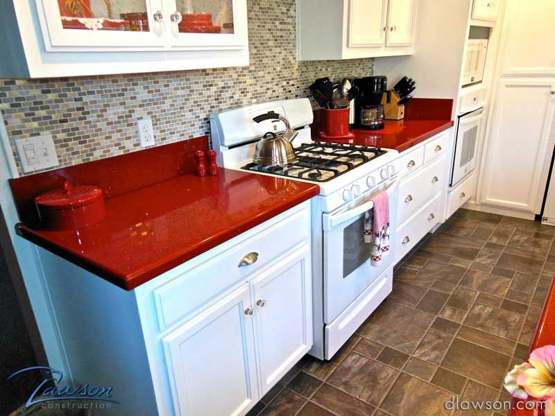 Kitchen Remodel White Cabinets With Smoked Glass