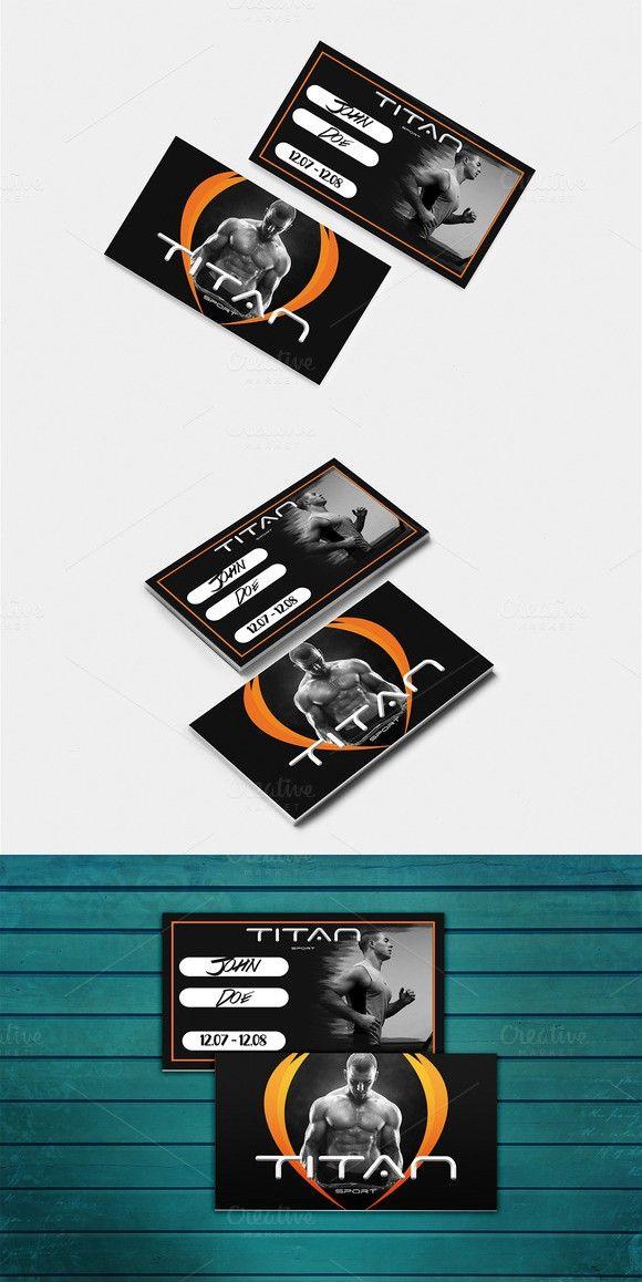 Gym Membership Card Gym Membership Card Membership Card Visiting Card Design