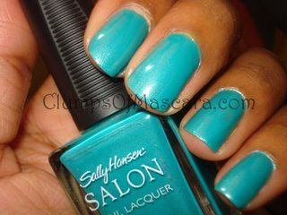 Teal polish- this is soo my color!
