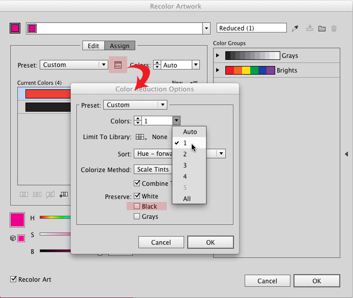 How To Change The Color Of A Png File In Illustrator