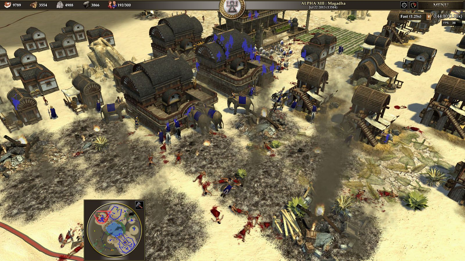0 A.D. of the the best free open source rts games