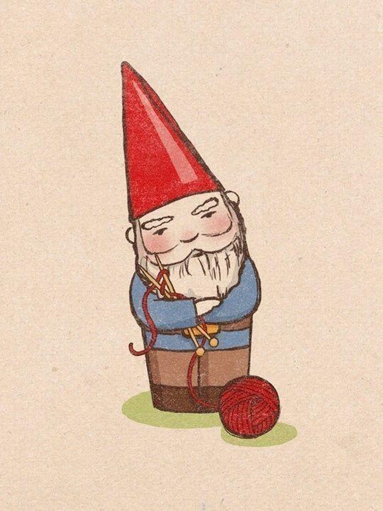 Knitting Gnome!