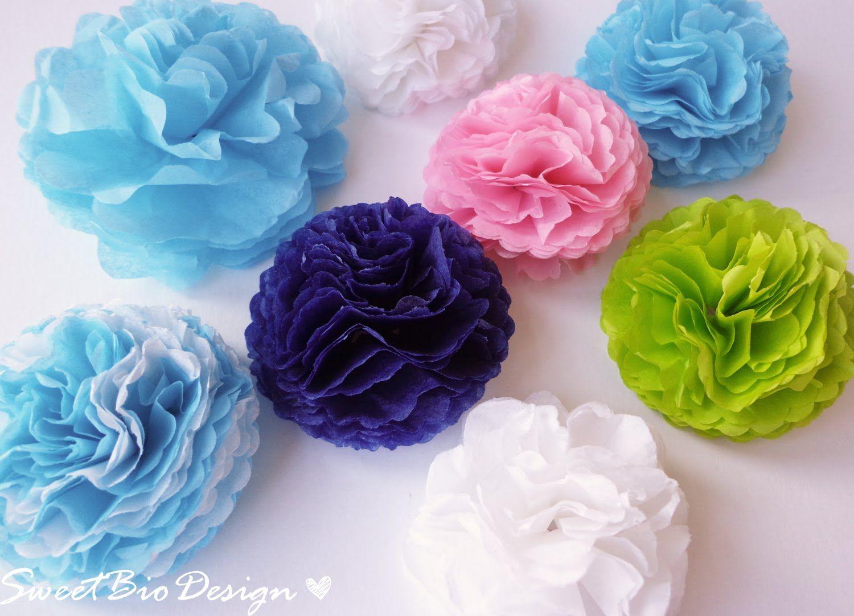 Tissue Paper Flower Tutorial Youtube Acurnamedia
