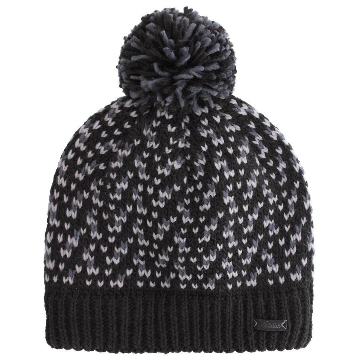 af50c3c43cc72 Chunky climawarm yarns on this great value womens paradise ballie golf beanie  hat by Adidas are perfect for keeping you warm and cozy during those winter  ...