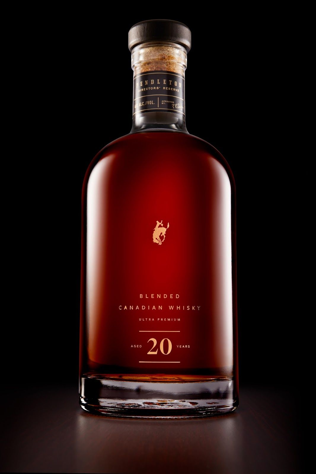 Pendleton Directors Reserve Whisky Bottle Design Wine And Liquor