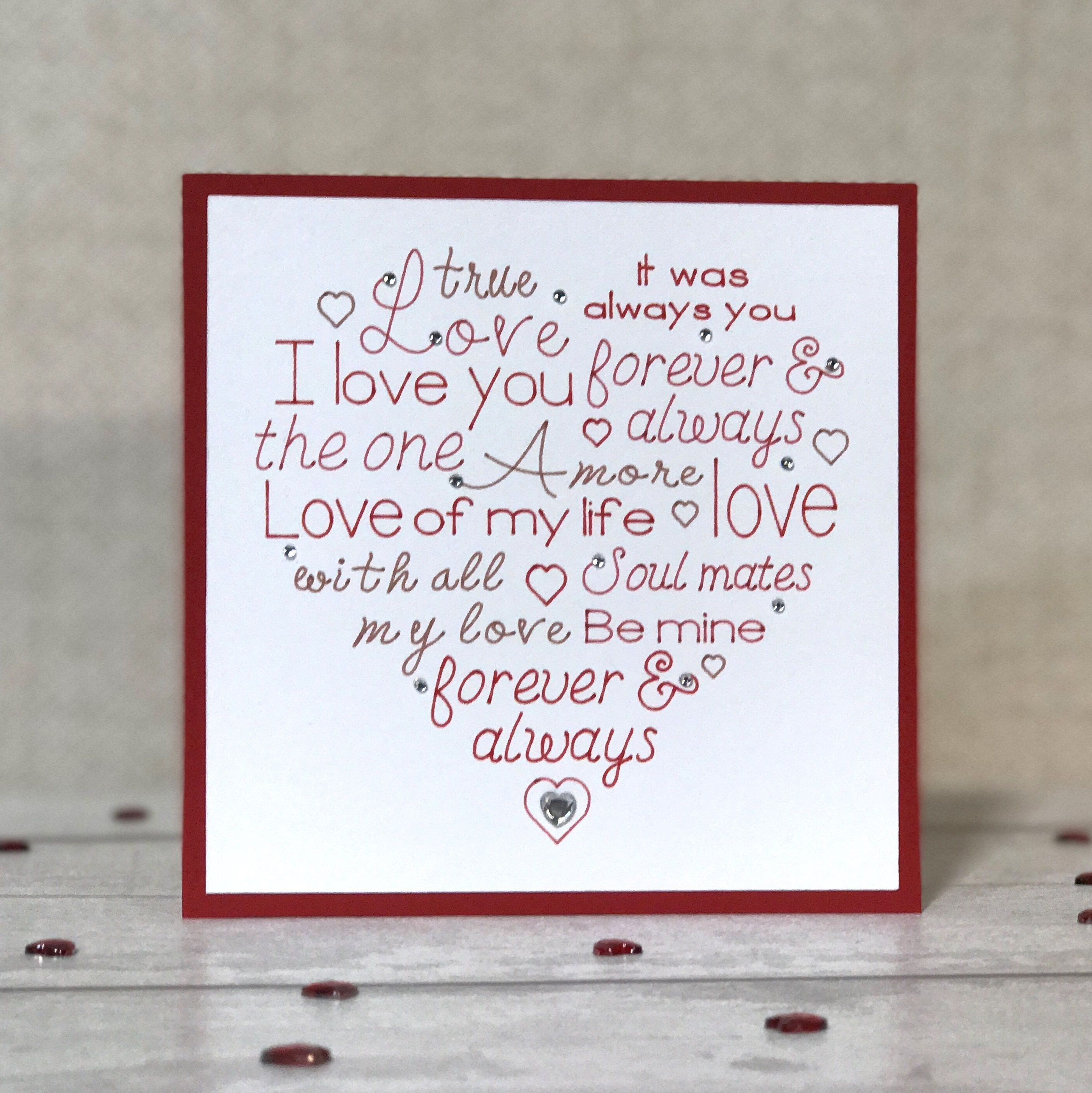 Anniversary card for wife cards for wife card for