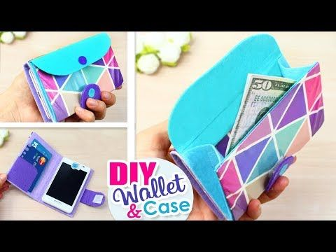premium selection ab82d afe17 1263) DIY PHONE CASE WALLET // Flip Phone Case Tutorial with Cam ...