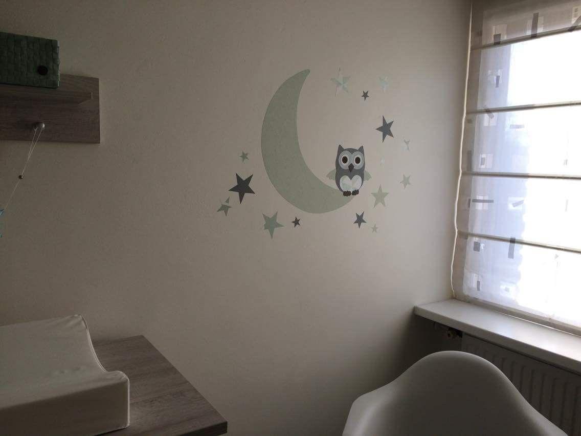 Babykamer Muurdecoratie Ideeen : Groene decoratie babykamer room baby nursery beste ideeen over