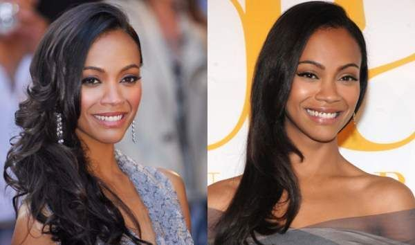 Bride Hair Side Sweep Long Side Swept Hairstyle For Black Women