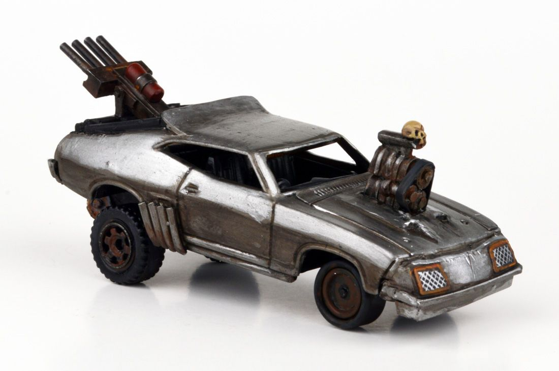 Mad Max Fury Road Mad Max Custom Hot Wheels Car Max