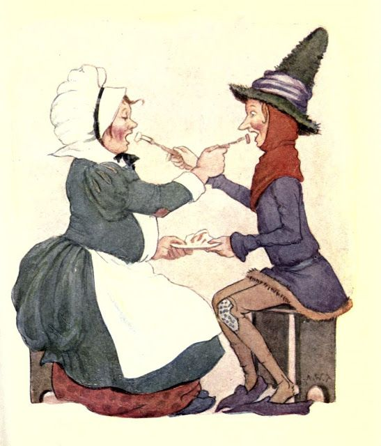 JACK SPRAT -- NURSERY RHYMES Illustrated By Margaret W